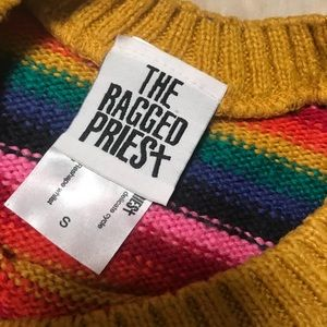 the ragged priest Sweaters - The Ragged Priest Rainbow Sweater 🌈